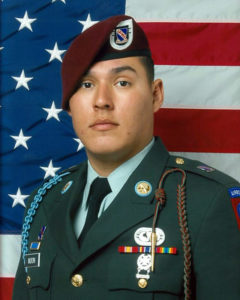 Chris Moon, U.S. Army, SPC, KIA