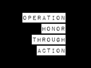 Operation Honor through Action 2020